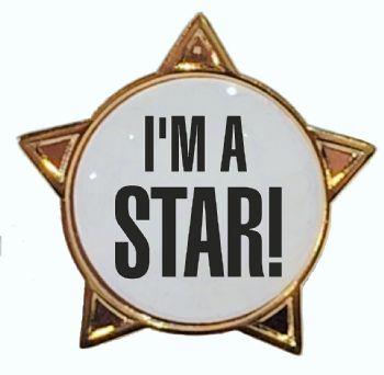 I'M A STAR! star badge
